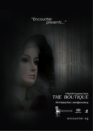 Poster design for encounter, the Boutique