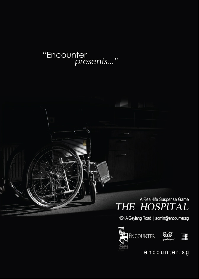 poster design encounter the hospital