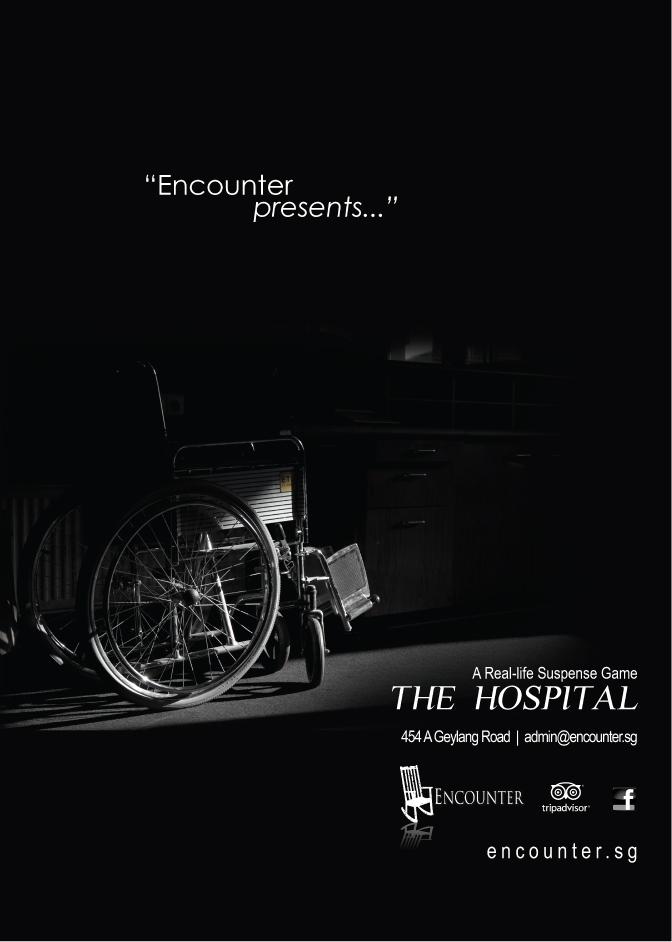 poster design encounter the hospital