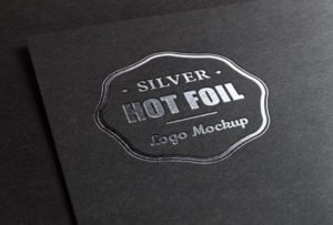 Hotstamp example : Silver