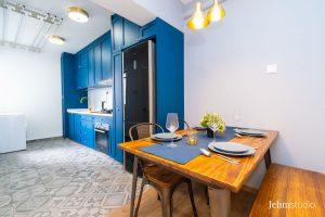 12 cantonment close Kitchen - Interior design by Jehm
