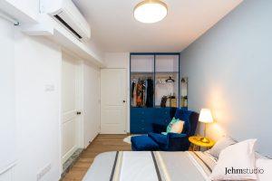 12 cantonment close Masterbedroom - Interior design by Jehm