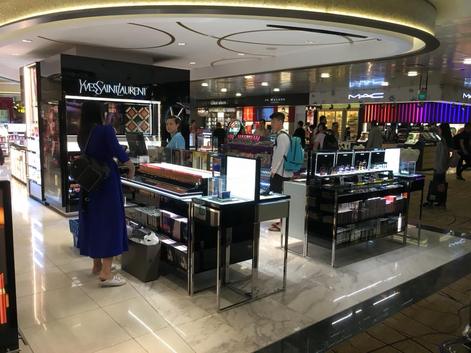 YSL Changi Airport T2 The Shilla Renovation