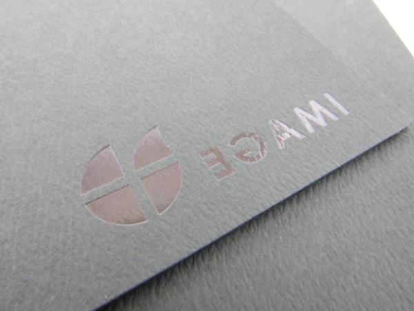 egami presentation folder design hotstamp