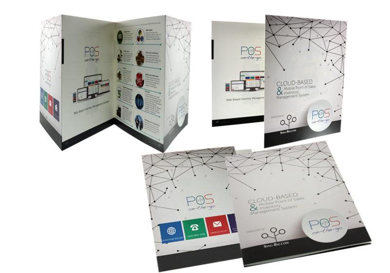 pos on-the-go brochure design