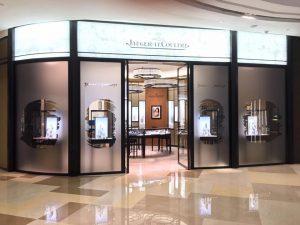 ION JLC Boutique Christmas window display design