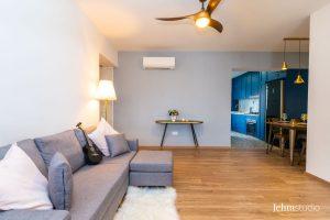 12 cantonment close Living - interior design by Jehm