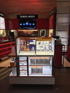 Clarisonic Display Gondola at T Galleria Scottswalk DFS